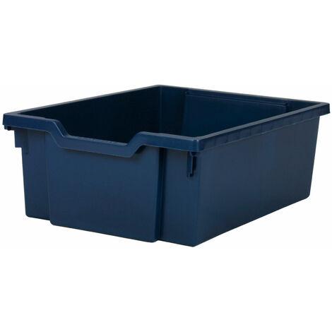 Gratnells Deep Education Storage Tray 312 x 427 x 150mm Midnight Blue