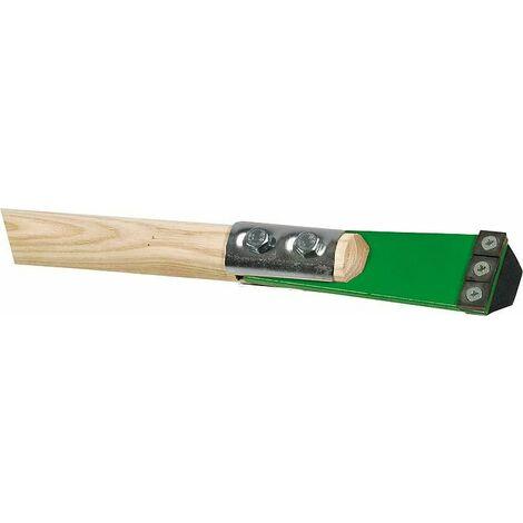 Gratoir béton avec 3 lames réversibles l: 54mm, L: 1600mm