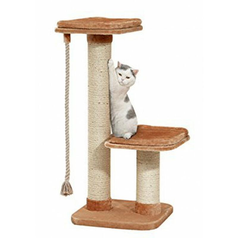 Arbre a chat, taille 56 x 56 cm, hauteur 122 cm, pour grand chat.