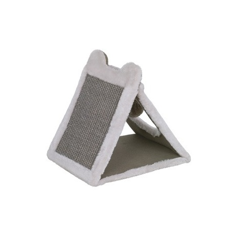 Grattoir triangulaire Eline gris 31x25x31cm