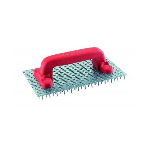 Gratton simple 240 pointes grandes dents 25 x 14 cm TALIAPLAST