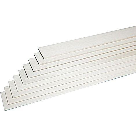 Graupner Balsa-Brettchen (L x B x H) 1000 x 100 x 2.5mm 10St. A20485