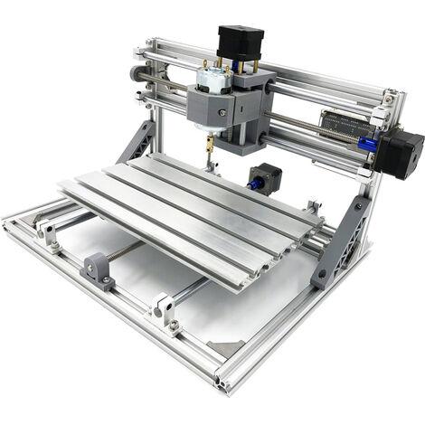 Graveur avec 3 axes Machine de gravure sur bois contrôle Gravure