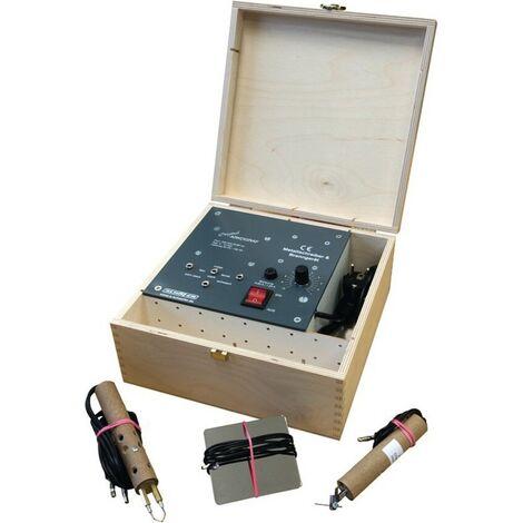 Graveur électrique/à chaud ARKOGRAF Tension de secteur 230 V pour métaux/bois conducteurs