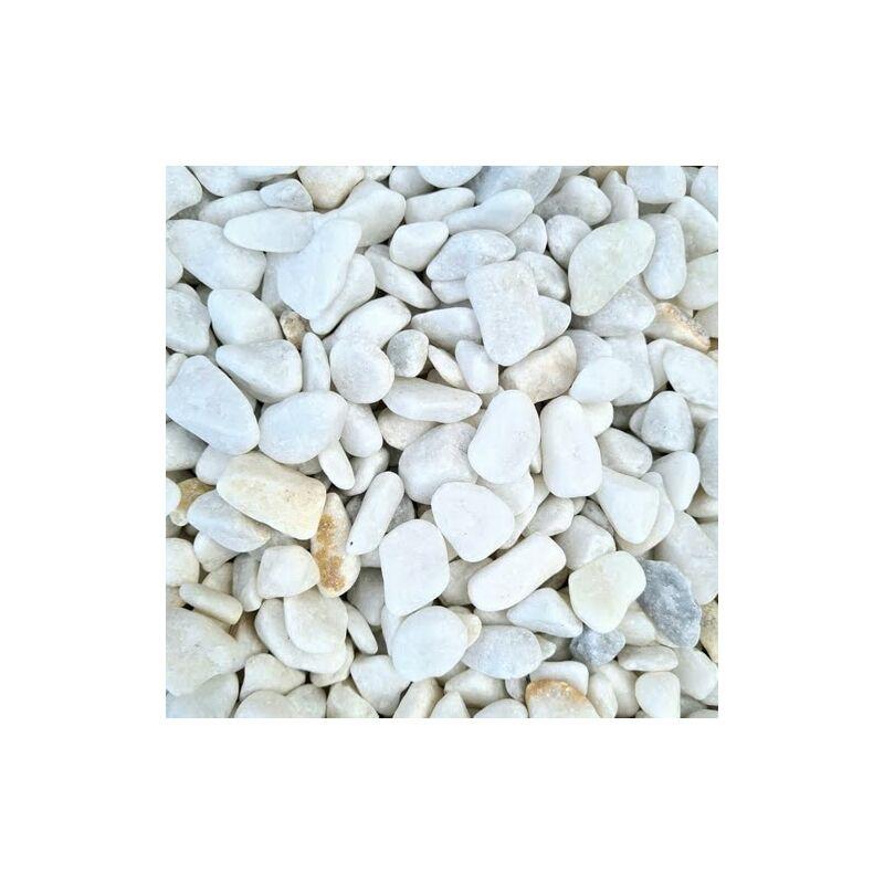 16 Décoratif Roulé Mm Marbre Gravier Blanc 8 0nPkO8wX