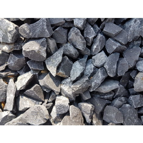 Sac de 400 kg = 10M² Gravier noir basalt 40/60