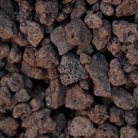 Gravier décoratif pouzzolane 12-20 mm