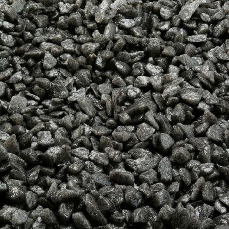 Gravier épais 6-9 mm gris pour fond d'aquarium - Sac 2 kg