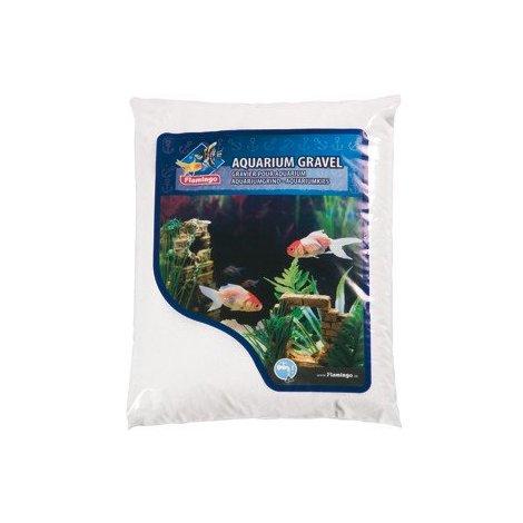 Gravier fin Sibéria pour aquarium Flamingo 4 kg