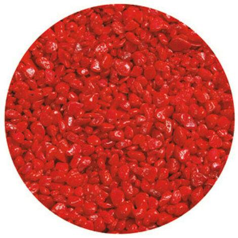 Gravier Neon Micro Rouge pour aquarium Flamingo 1 Kg