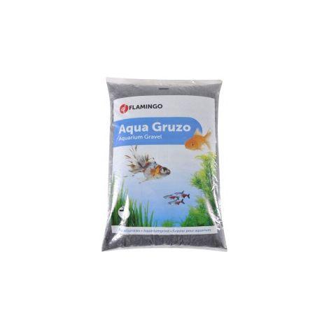 Gravier pour aquarium - Noir - 8 litres environ 10kg