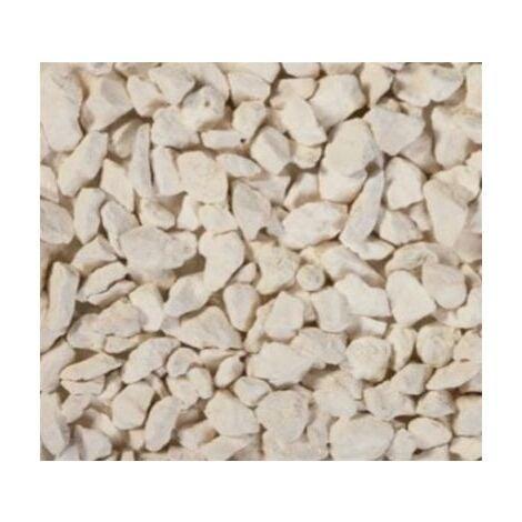Gravillons calcaire Ocre/blanc 10/14 400 Kg - 16x25kgs