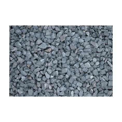 Gravillons noir basalte 6/10 400 Kg - 16x25kgs