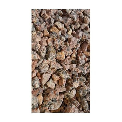 Gravillons rose granité 6/10 150 Kg