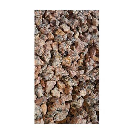 Gravillons rose granité 6/10 400 Kg - 16x25kgs