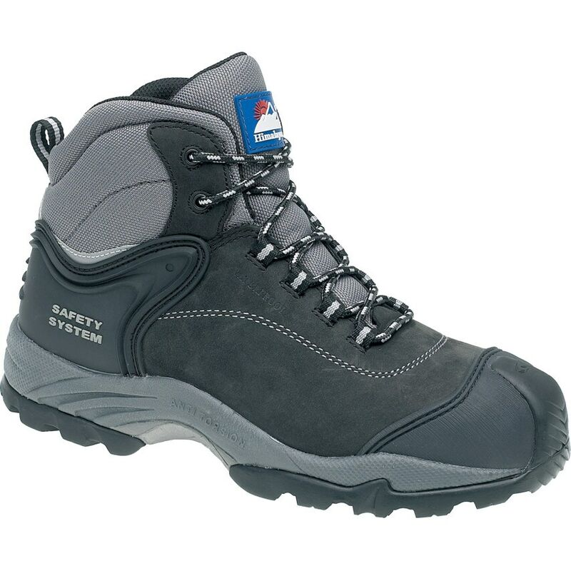 Image of Himalayan 4103 Gravity 2 Black/Grey Safety Boots - Size 8