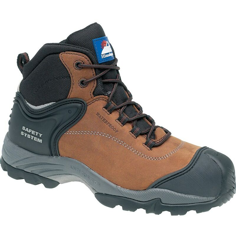 Image of Himalayan 4104 Gravity 2 Brown Safety Boots - Size 11