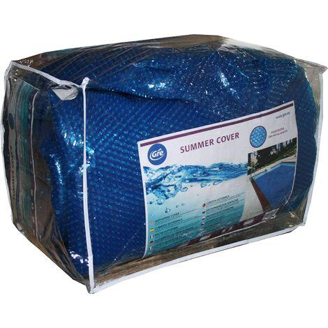 Gre CPERT105 - Couverture Solaire Rectangulaire pour Piscines Enterrées 1000 x 500 cm, Couleur Bleu