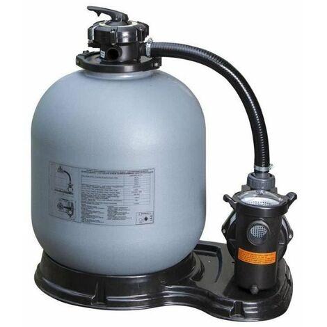 GRE Ensemble de filtration a sable 8m³/h - 770W / 230V 50Hz