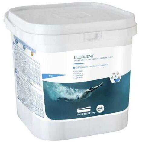 GRE Galettes de Chlorelent - 5 Kg - Permet de détruire tous les organismes. champignons et bactéries