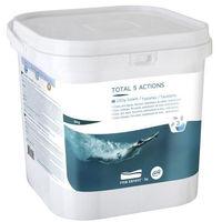 GRE Galettes Total 5 actions - 5 Kg - Chlore, anti-algues, floculant, stabilisateur de chlore, anticalcaire
