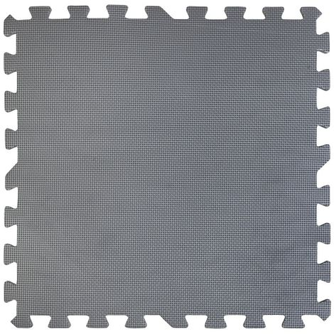 GRE POOLS - Dalle de protection bleue 50 x 50 cm - Pack de 9 dalles