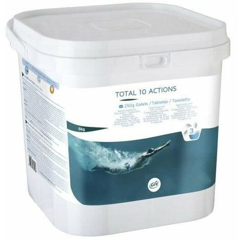 GRE Total 10 actions 5 kg - Galets 250 grs