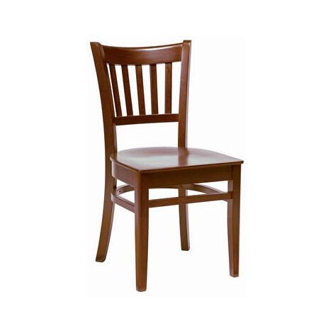 Gredile Dark Walnut Wood Chairs