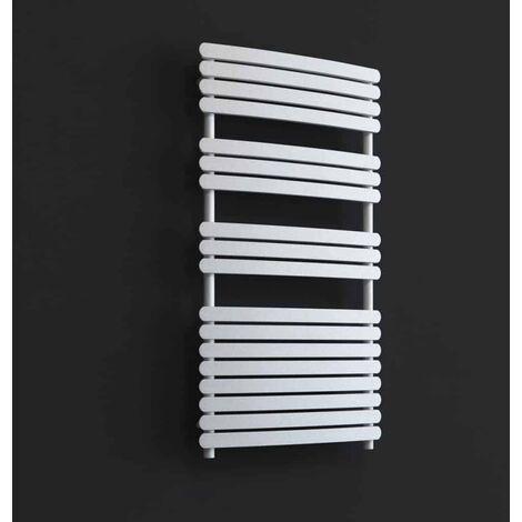 GREEBA ELEMENTS Flat Panel Modern Heated Towel Rail / Warmer - Central Heating
