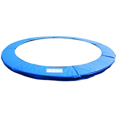 Green Bay Coussin de Protection pour Trampoline Bleu