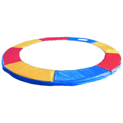 Green Bay Coussin de Protection pour Trampoline Multicolore