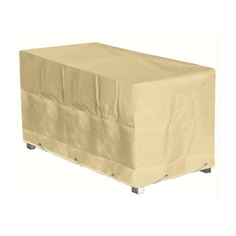 Housse de protection pour table - 180x90x65 cm - Beige - Green Club