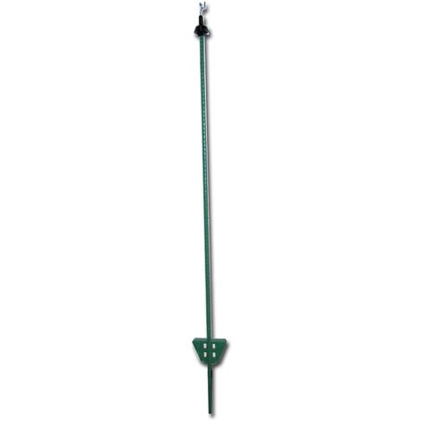Green iron pegs 1.05m high for electrified fences pack of 25 pieces