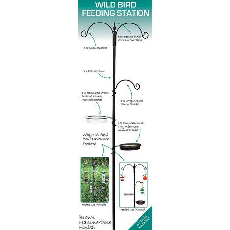 Green Jem Wild Bird Feeding Station