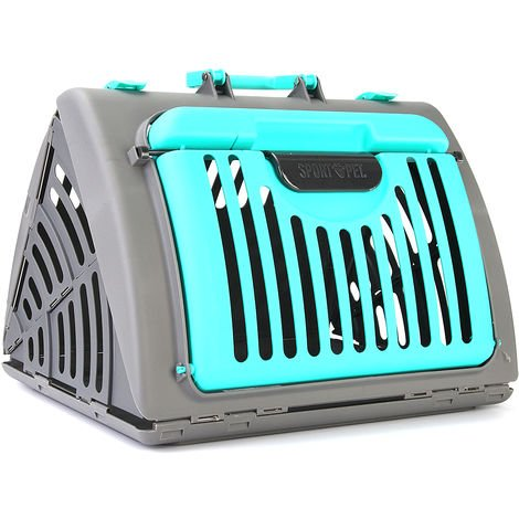 Green Puppy Holder Dog Cat Basket Bag Bag Cage Transport Portable Travel Kennel Box