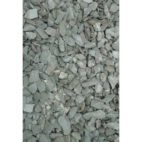 Green Slate 40mm Bulk Bag - 850Kg