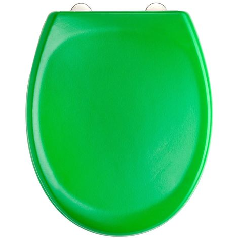 Sensational Green Toilet Seat In Duroplast High Quality With Automatic Lowering And Detachable Alphanode Cool Chair Designs And Ideas Alphanodeonline