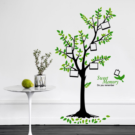 Green Tree Photo Frame - 105cm x 175cm