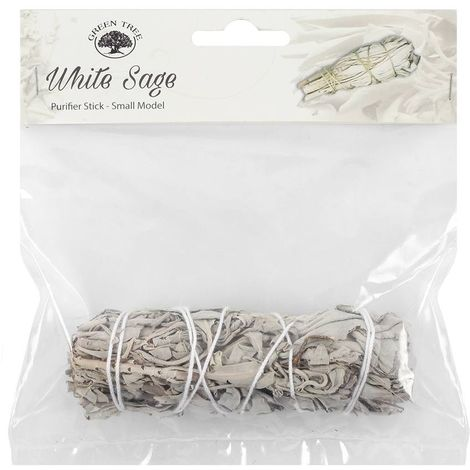 Green Tree White Sage Plant Purifying Smudge Stick