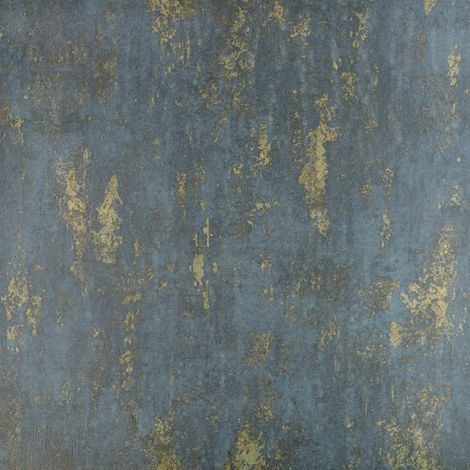 Green Weathered Stone Effect Wallpaper Paste The Wall Textured Vinyl