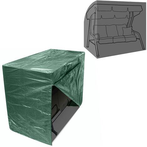 Greenbay 3 Seater Swinging Garden Hammock Cover with Zipper (220 x 150 x 170cm)