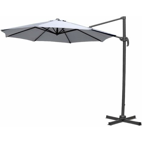Greenbay 3m Patio Parasol Roman Outdoor Umbrella 360