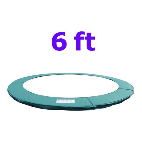"""main image of """"Greenbay Replacement Trampoline Surround Pad Foam Safety Guard Spring Cover Padding Pads Green"""""""