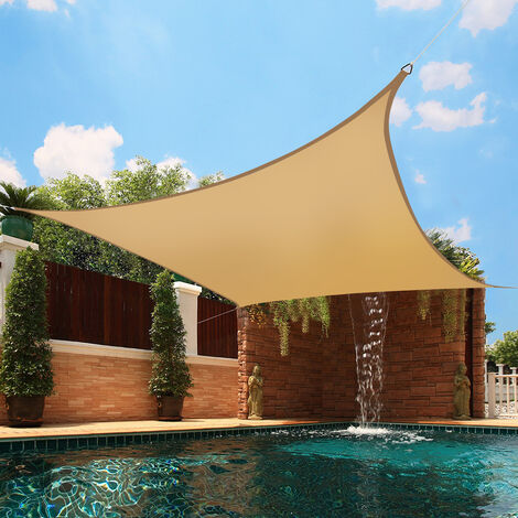 Greenbay Sun Shade Sail Garden Patio Party Sunscreen Awning Canopy 98% UV Block Square