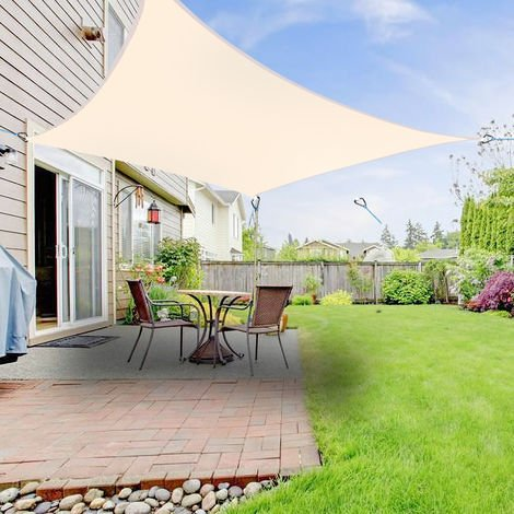 Greenbay Sun Shade Sail Garden Patio Party Sunscreen Awning Canopy 98% UV Block Square