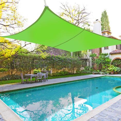 "main image of ""Greenbay Sun Shade Sail Garden Patio Yard Party Sunscreen Awning Canopy 98% UV Block Rectangle"""