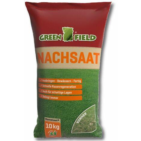 Greenfield Nachsaat 10 kg Rasen Samen Mantelsaat Nutri Sport Qualitätsamen