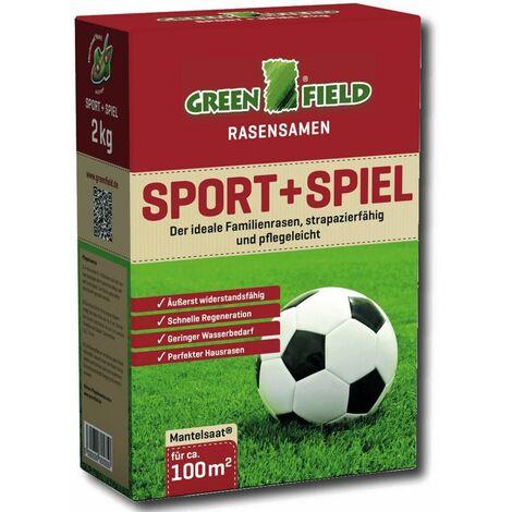 Greenfield American Green 10 kg für ca Grassamen 500 m²  Rasensamen