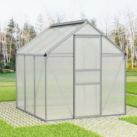Greenhouse Aluminium 7.04 m³