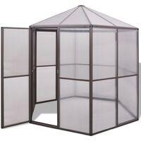 Greenhouse Aluminium UV resistant Thermal insulation 240x211x232 cm